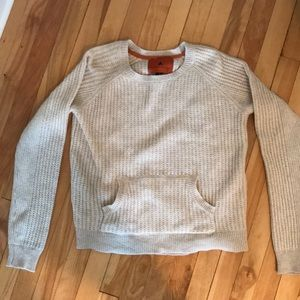 Beige Sweater with Pocket